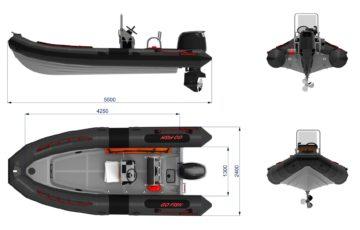 Vanguard DR 560 GO FISH