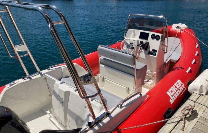 Préparation et livraison d'un Joker Boat Coaster 600 !